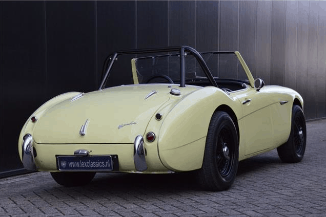 consignatie oldtimer of youngtimeraustin healey 100 6 two seater. Black Bedroom Furniture Sets. Home Design Ideas