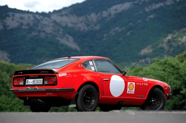 Consignatie oldtimer of youngtimerDatsun 240Z Rally ...