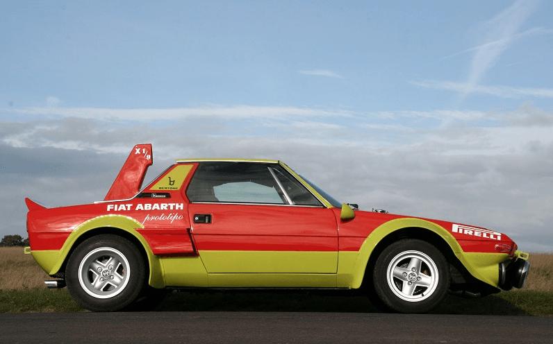 Fiat 850 Spider >> Fiat X1/9 Abarth Prototipo - thecoolcars.nl