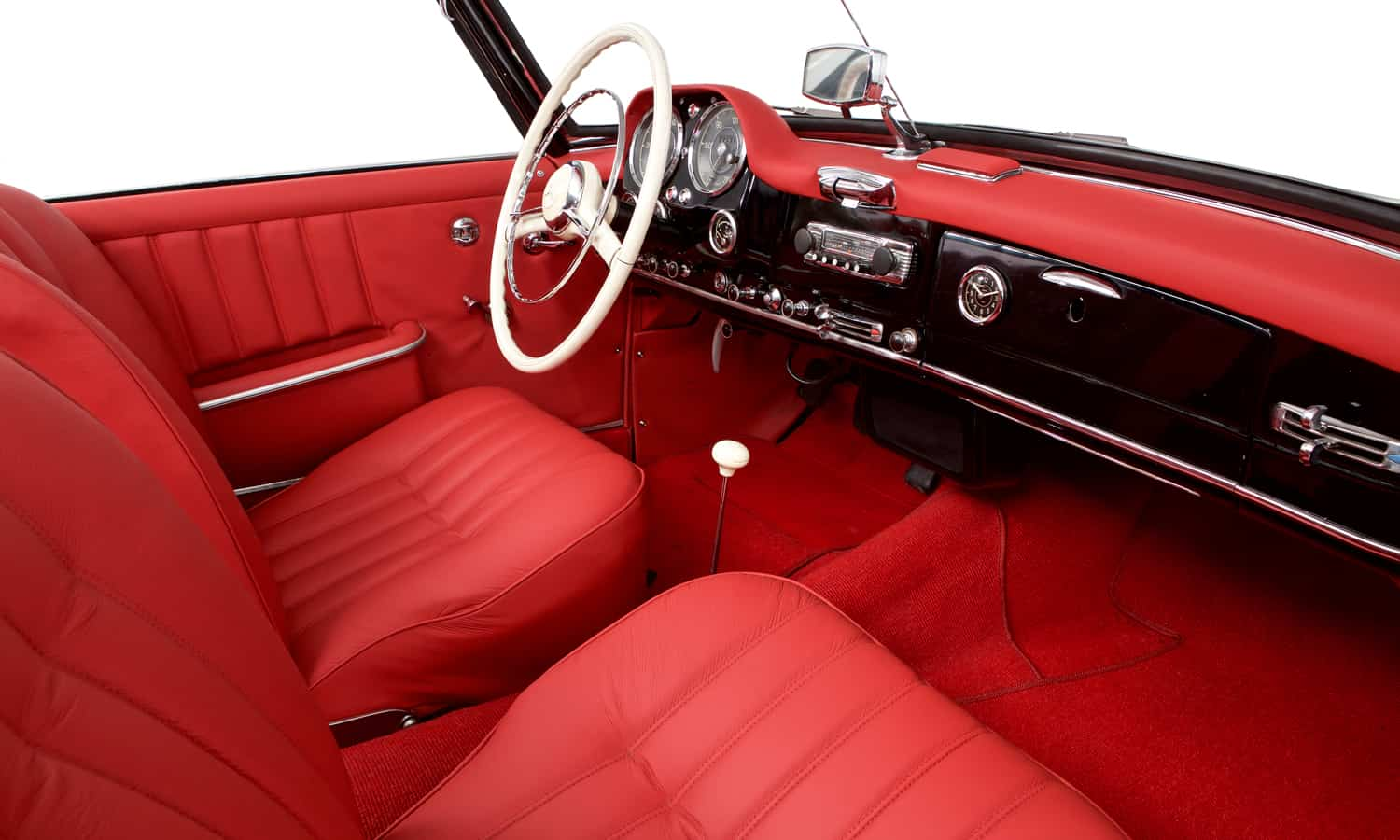 Consignatie oldtimer of youngtimermercedes benz 190 sl for Interieur mercedes 190