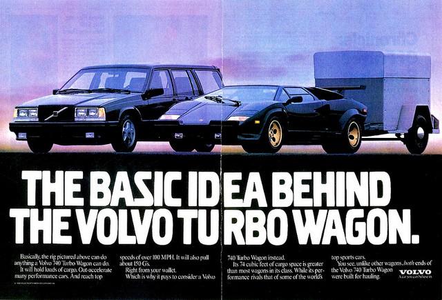 Volvo 740 Turbo ad